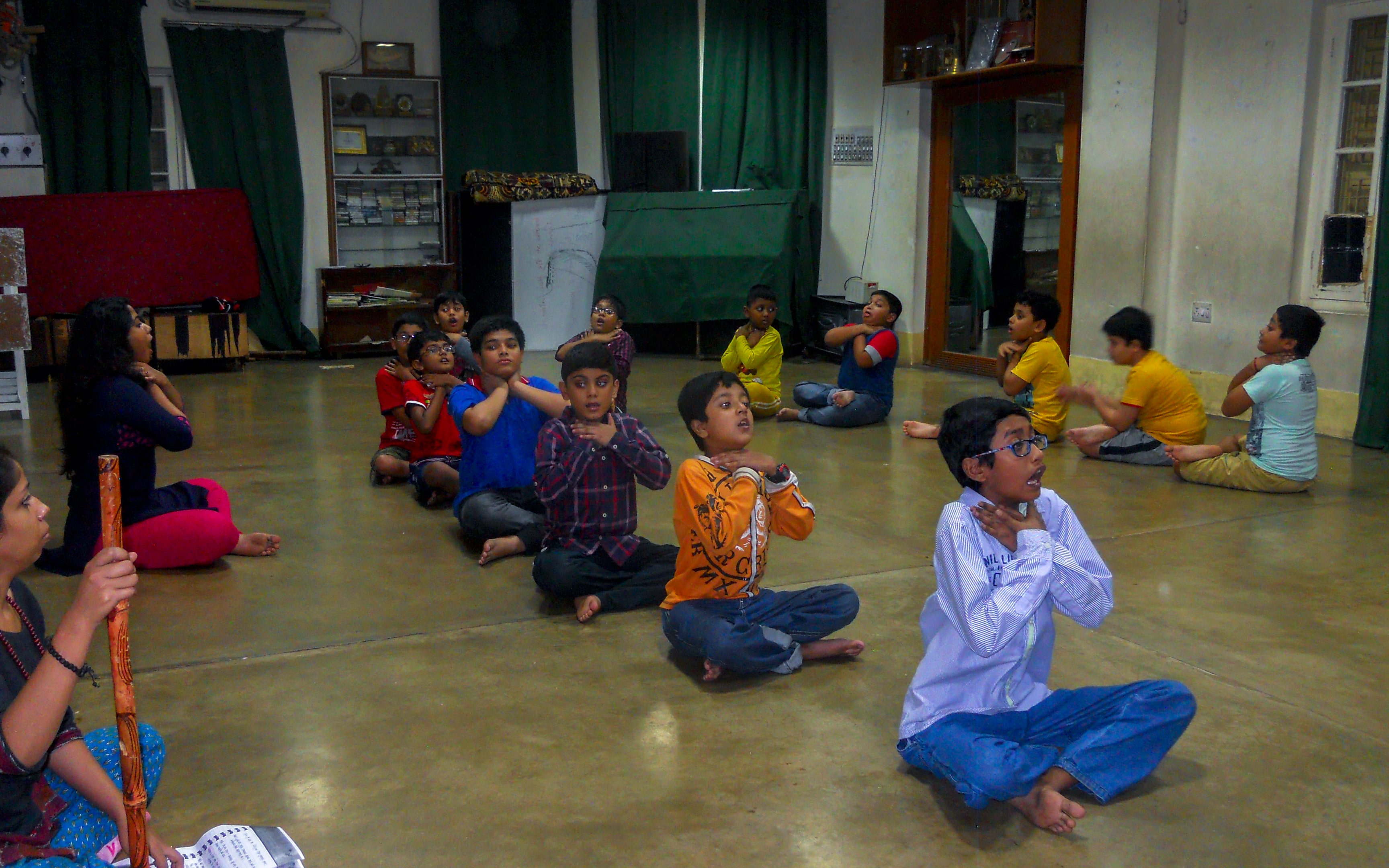Nandikar Children Workshop - Batasbari