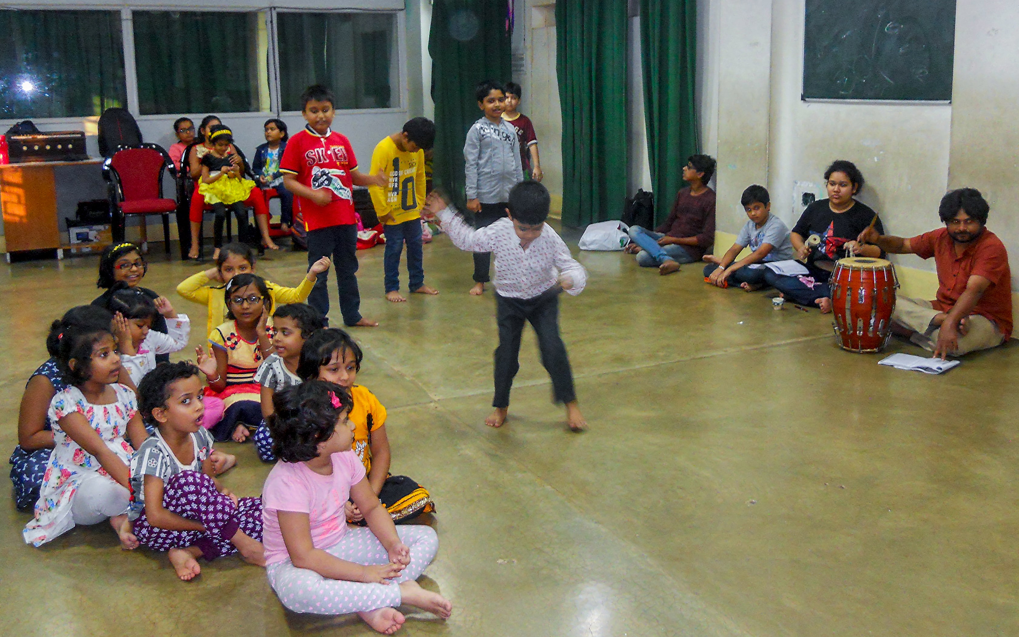 Nandikar Children Workshop - Lankadahan Pala